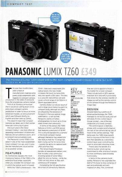 panasonic lumix dmc ft1 manual