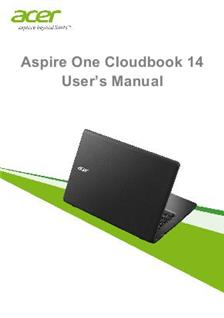 acer aspire one cloudbook 14  tablet  manuals Vacuum Cleaner Manual