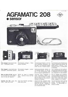 Agfa Agfamatic 208 manual
