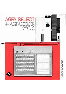 Agfa Agfacolor 250 Series manual