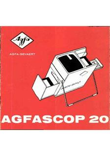 Agfa Agfascop 20 Viewer manual