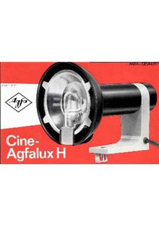 Agfa Cine Agfalux H manual