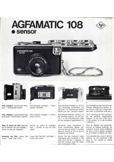 Agfa Agfamatic 108 manual