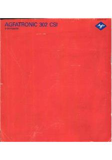 Agfa Agfatronic 302 CSI manual