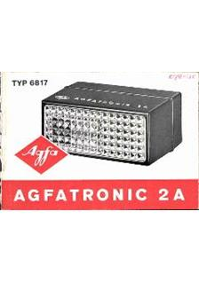 Agfa Agfatronic 2 A manual