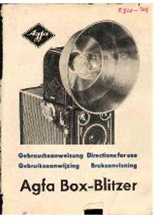 Agfa Box Blitzer manual