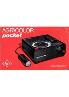 Agfa Agfacolor Pocket manual