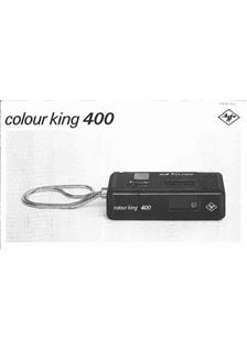 Agfa ColourKing 400 manual