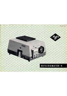 Agfa Diamator H manual