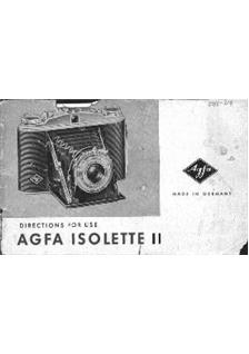 Agfa Isolette 2 manual