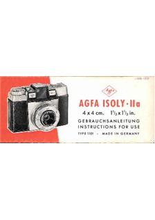 Agfa Isoly 2 a manual