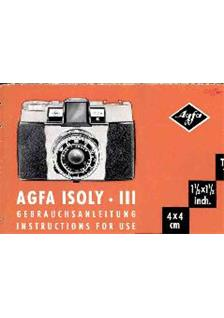 Agfa Isoly 3 manual