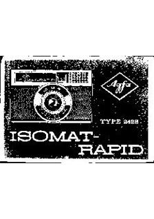 Agfa Isomat Rapid manual