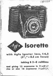 Agfa Isorette manual