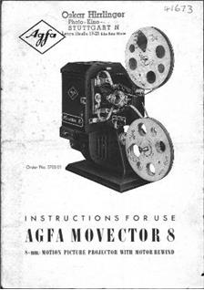 Agfa Movector 8 manual