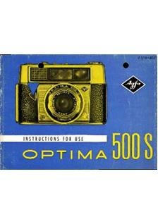 Agfa Optima 500 S manual