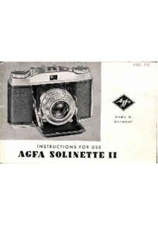 Agfa Solinette 2 manual