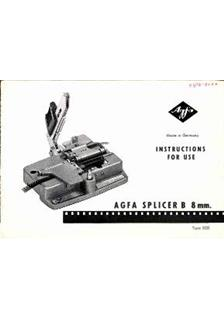 Agfa Splicer B manual
