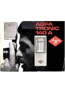Agfa Agfatronic 140 A manual