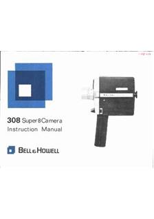 Bell and Howell 308 manual