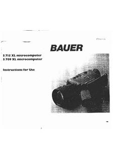 Bauer S 715 XL manual