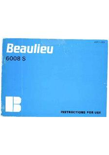 Beaulieu 6008 S manual