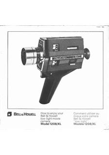 Bell and Howell 1208 manual