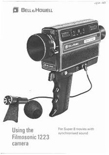 Bell and Howell 1223 manual