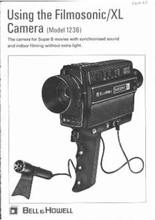 Bell and Howell 1236 manual