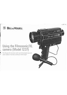 Bell and Howell 1237 manual