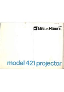 Bell and Howell 421 manual