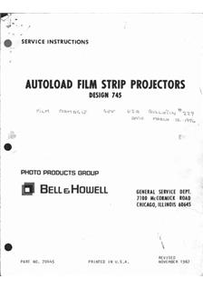 Bell and Howell 767 manual