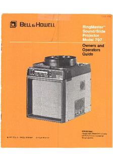 Bell and Howell 797 manual