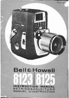 Bell and Howell 8123 manual
