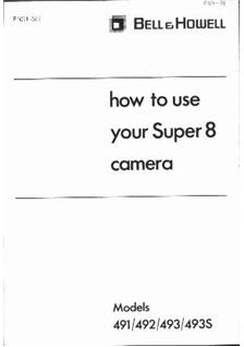 Bell and Howell Filmosound 8 Series manual