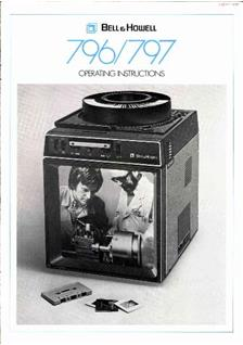 Bell and Howell 796 manual