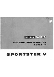 Bell and Howell Sportster 5 manual