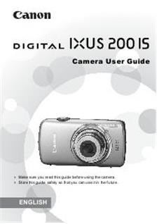 Canon Digital Ixus 200 IS