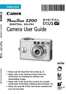 Canon Digital Ixus V2