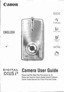 canon ixus 8515 instruction manual