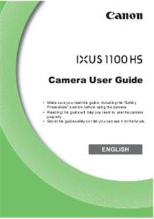 canon ixus 8515 instruction manual