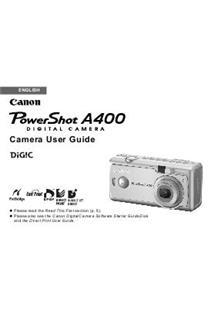 canon powershot a400 manual pdf