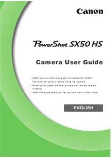 canon powershot sx50 hs (camera) manuals