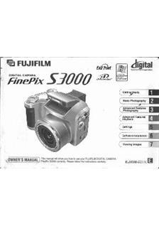 Fujifilm Finepix S3000 user Manual