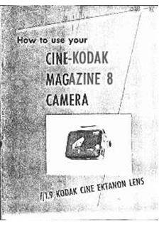 kodak cine kodak 8 video manuals rh camera manual com 8A Film Model Cine-Kodak 8A Film Model Cine-Kodak