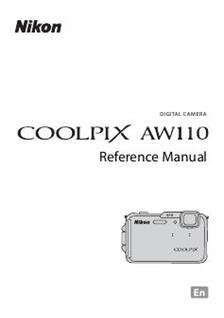 Nikon Coolpix AW110 (Camera) Manuals