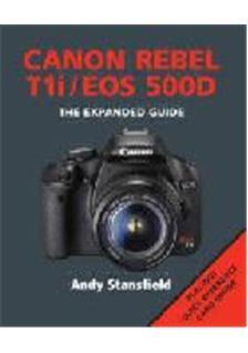 canon eos 500d instruction manual