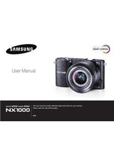 Samsung NX1000 Printed Manual