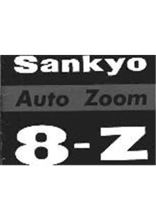 Sankyo 8 Z Printed Manual