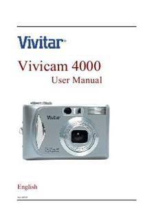 vivitar vivicam v 4000  camera  manuals 8225 Cantrell 77074 Number 8225